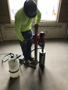 Yankee Engineering and Testing Inc Concrete Coring in Central Massachusetts